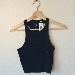 (3 FOR $20 SALE)NWT Pac Sun Black Cropped  Tanktop